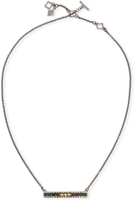 Armenta Old World Crivelli Bar-Pendant Necklace
