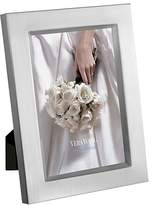 "Vera Wang Satin Silver Frame, 4 x 6"""
