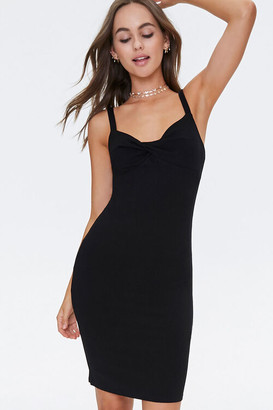 Forever 21 Twist-Front Bodycon Dress
