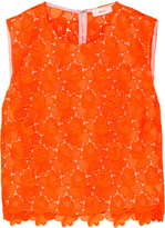 A.L.C. Adriana guipure lace top