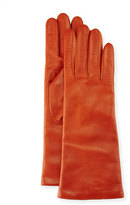 Portolano Napa Leather Gloves, Burnt Sienna