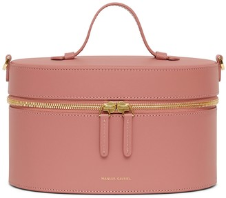 Mansur Gavriel Calf Train Case Crossbody - Blush