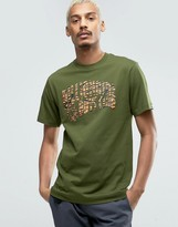 Billionaire Boys Club T-shirt With Zebra Camo Arch Logo