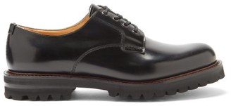 Church's Chester Rubber-sole Leather Derby Shoes - Black