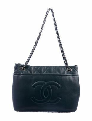 Chanel Timeless Soft Shopper Tote Navy