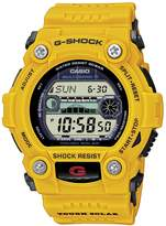 G-Shock GW-7900CD-9ER Men's Digital Quartz Watch with Grey Dial and Yellow Resin Strap