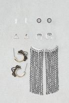American Eagle Outfitters AE Studs & Fringe Earrings 6-Pack