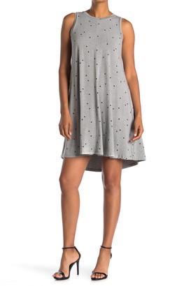 Philosophy di Lorenzo Serafini Ryan Sleeveless Jersey Dot Print Dress
