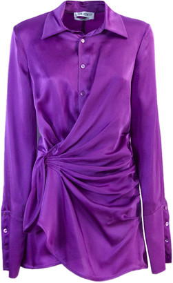 ATTICO Purple Shirt Dress