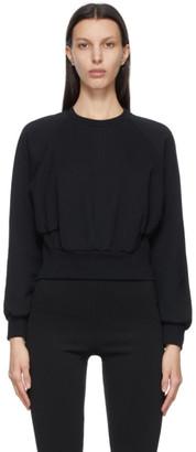 3.1 Phillip Lim Black Raglan Sleeve Sweatshirt
