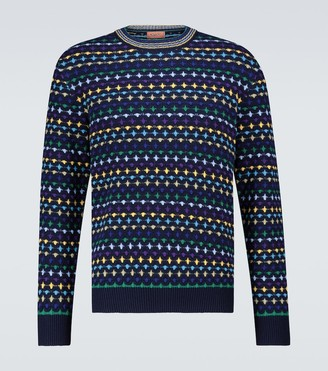 Missoni Long-sleeved crewneck sweater