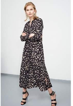 Set Fashion - Ditzy Floral Patterned Maxi Dress - 38