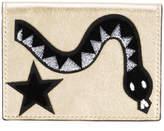Les Petits Joueurs Snake flap purse