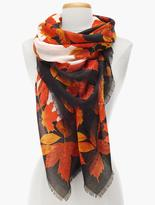 Talbots Falling Leaves Scarf