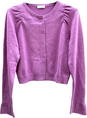 Brunello Cucinelli Purple Cashmere Knitwear