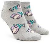 Forever 21 FOREVER 21+ Mermaid Hippo Ankle Socks