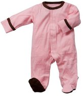 Baby Soy Footed One Piece - Petal - 3-6 months