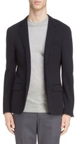Lanvin Men's Wool Blend Jersey Jacket