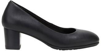 Hush Puppies The Block Heel Black Heeled Shoe