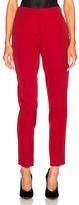Oscar de la Renta for FWRD Suit Pants in Red.