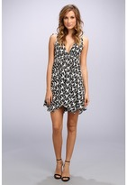 T-Bags LosAngeles Tbags Los Angeles Woven Spag Strap Triangle Hi-Lo Dress