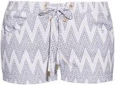 Melissa Odabash Shelly intarsia shorts