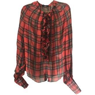 Dolce & Gabbana \N Red Silk Tops