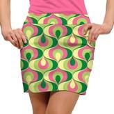 Loudmouth Women's Loudmouth Ribbon Print Golf Skort
