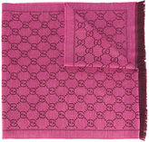 Gucci GG jacquard shawl - women - Wool - One Size