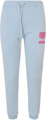 Chiara Ferragni Logo Patched Track Pants