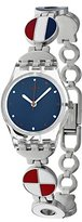 Swatch Women's 'Marinette' Quartz Plastic and Stainless Steel Watch, Multi Color (Model: LK344G)