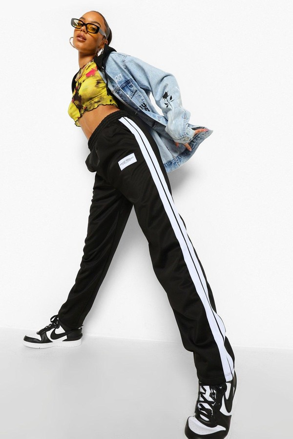 boohoo Side Stripe Track Pant