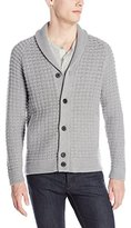 Theory Men's Balfor Chunky Cashmere-Wool Cardigan Sweater