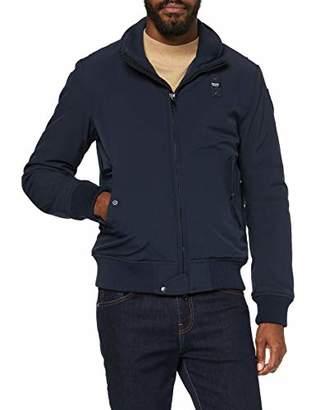 Blauer Men's Giubbini Corti Imbottito Ovatta Bomber Jacket,Large