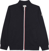 Moncler Classic cotton zip-up tracktop 4-14 years