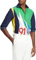 Ralph Lauren Regatta Mulberry Silk & Cotton Shirt