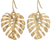 The Sak Palm Leaf Drop Earrings Earring
