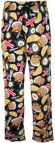 Bioworld Emoji Breakfast Cotton Lounge Pants for men