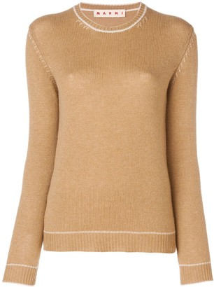 Marni Fitted Silhouette Sweater