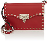Valentino Women's Rockstud Small Crossbody Bag-RED