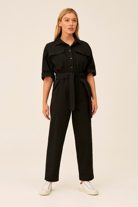 The Fifth BACKTRACK JUMPSUIT Black