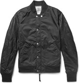 Nonnative - Student Leather And Shell Varsity Jacket