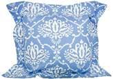 Lullaby Linen Bluebird Flange Cushion