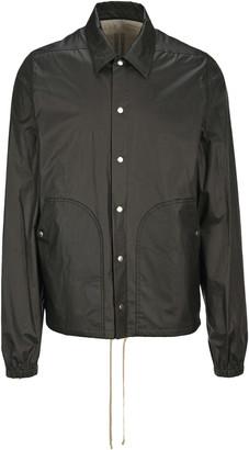Rick Owens Bauhaus Snap Buttons Jacket