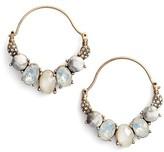 Jenny Packham Women's Wanderlust Hoop Earrings