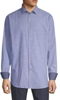 Paul & Shark Cotton Button-Down Shirt
