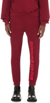 Vetements Gun club-print cotton-jersey jogging bottoms