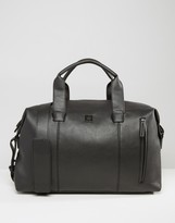 French Connection Leather Look Weekender Bag
