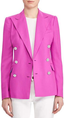 Ralph Lauren Camden Cashmere Twill Jacket