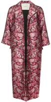 ADAM by Adam Lippes Floral brocade opera coat